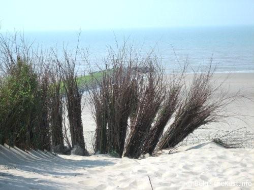 foto strand Bredene - Belgische Kust - Belgie