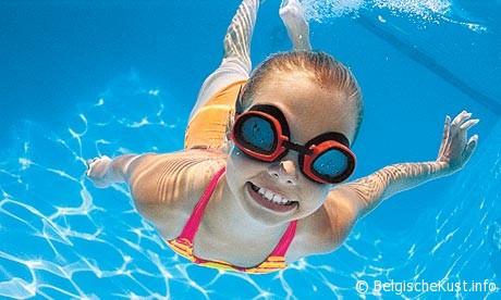 foto zwembad nieuwpoort bad belgie