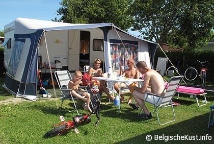 foto camping Jagershof Kerlinga Bredene