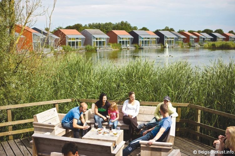 foto vakantiepark De Haan Belgische Kust