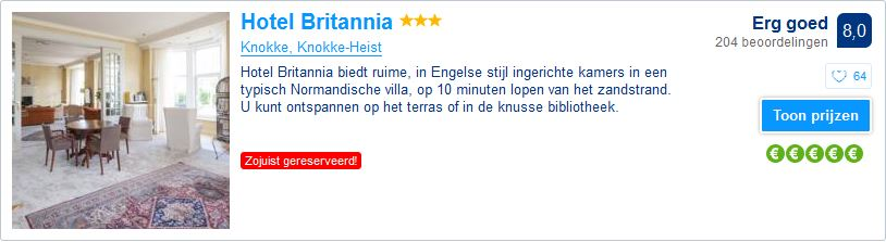 Hotel Britannia - Knokke