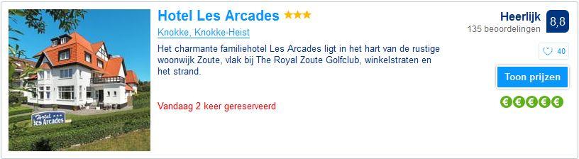 Hotel les Arcades - Knokke