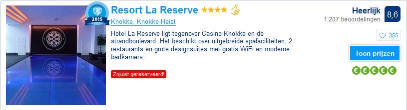 Resort la reserve -knokke