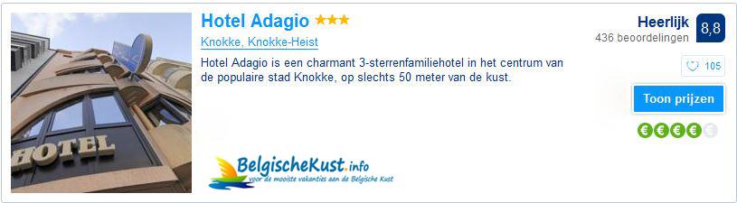 Hotel Adagio - Knokke